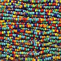 Beadaholique Rainbow Opaque Multi Mix 11/0 Czech Seed Beads (Case of 4000)