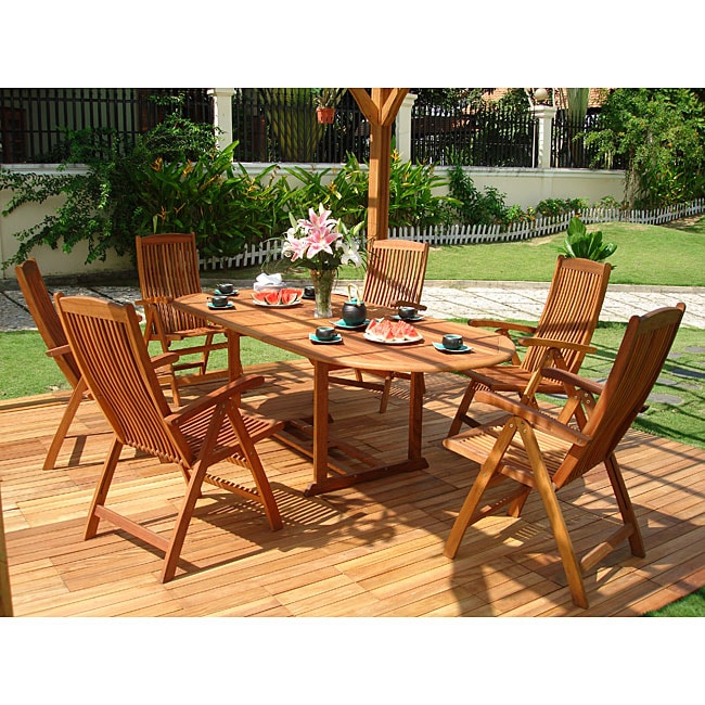 vista 7 piece patio dining set 11509914 shopping