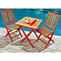 Glaser Outdoor Folding Bistro Set