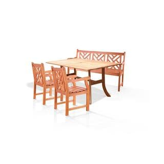 Atlantic 4-piece Dining Set