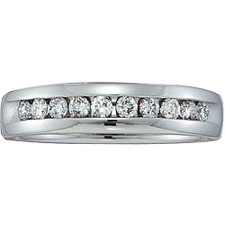 Unending Love 14k Gold Men's 1/2ct TDW Diamond Band (H-I, I1)