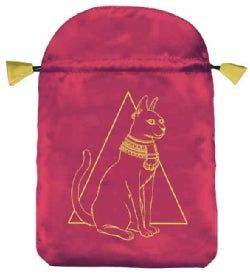 Egyptian Cat Satin Bag (Hardcover)