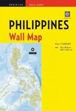 Periplus Philippines: Wall Maps (Sheet map, folded)