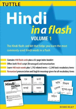 Hindi in a Flash: Volume 1 (Cards)