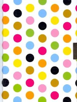 Fiesta Dots Locking Journal (Notebook / blank book)