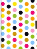 Fiesta Dots Locking Journal (Hardcover)