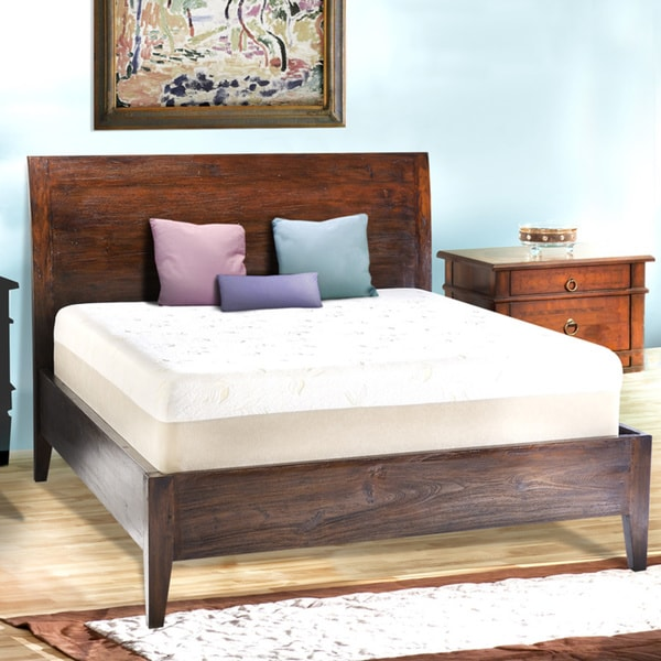 Comfort Dreams Select A Firmness 14 Inch King Size Memory Foam Mattress Overstock Shopping