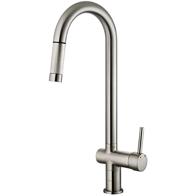 vigo stainless steel pull out kitchen faucet overstock