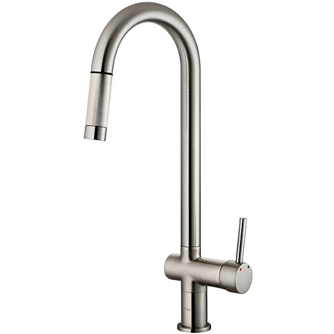 vigo stainless steel pull out kitchen faucet overstock shop delta debonair stainless 1 handle pull out kitchen
