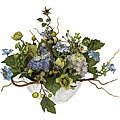 Hydrangea Silk Flower Centerpiece Arrangement