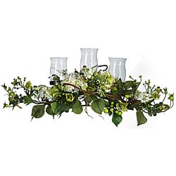 Hydrangea Triple Candleabrum Centerpiece
