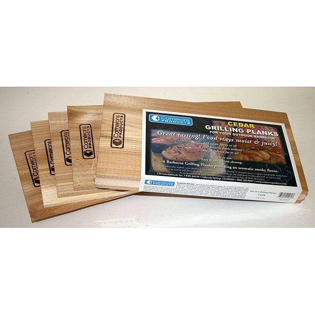 Cedar Wood Grilling Planks (Pack of 4)