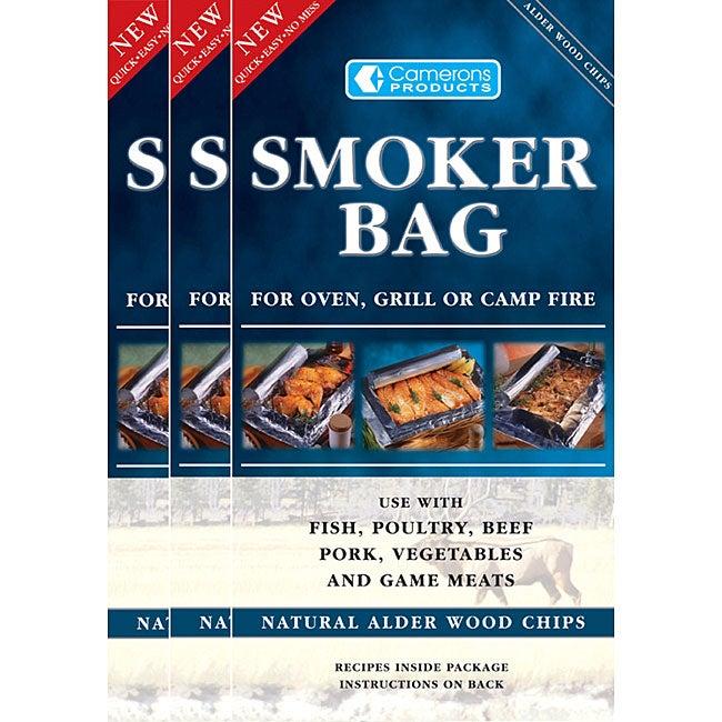 Alder Flavor Smoker Bag (Pack of 3)