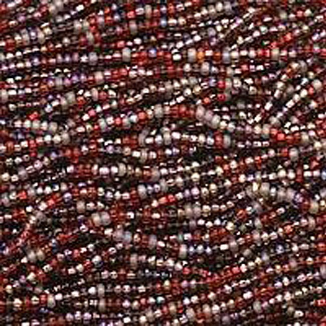 Beadaholique Very Berry Purple Red 11/0 Mix Czech Seed Beads