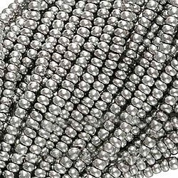 Beadaholique Silver Supra Metallic 11/0 Czech Seed Beads (Case of 4000)