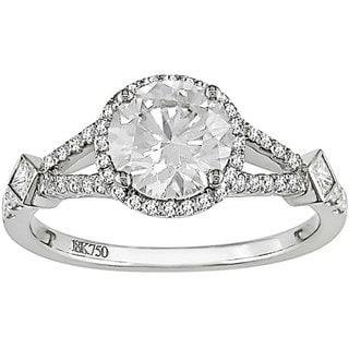 Miadora Signature Collection 18k Gold 1 2/5ct TDW Diamond Engagement Ring (G-H-I, I1-I2)