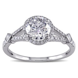 SHIRA 18k Gold 1 2/5ct TDW Diamond Engagement Ring (G-H-I, I1-I2)