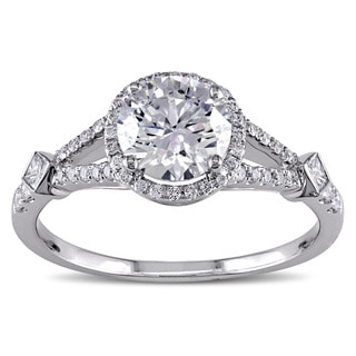 Miadora 18k Gold 1 2/5ct TDW Diamond Engagement Ring (G-H-I, I1-I2)