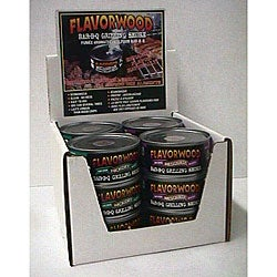 Flavorwood Barbequeue Grilling Smoke (12 Packs of 4)