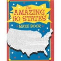 The Amazing 50 States Maze Book (Paperback)