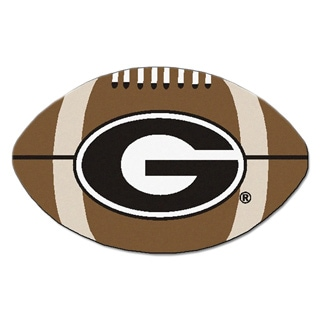 University of Georgia Football Mat (22 in. x 35 in.)