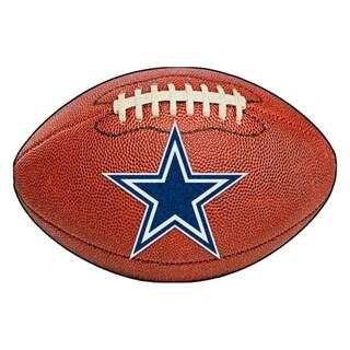 """FANMATS NFL - Dallas Cowboys Football Mat 20.5""""x32.5"""""""