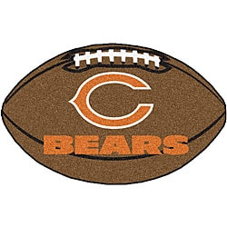 Chicago Bears 22x35 Football Mat