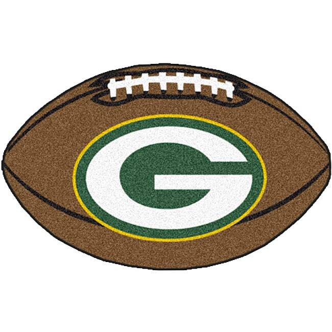 Fanmats Green Bay Packers 22x35 Inch Football Mat