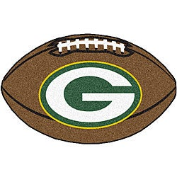 Fanmats Green Bay Packers 22x35-inch Football Mat