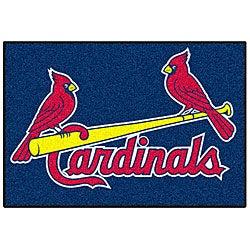 Fanmats MLB St. Louis Cardinals 20x30-inch Starter Mat