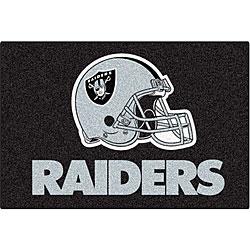 Fanmats NFL Oakland Raiders 20x30-inch Starter Mat