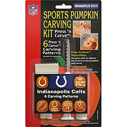 Indianapolis Colts Sports Pumpkin Carving Kit