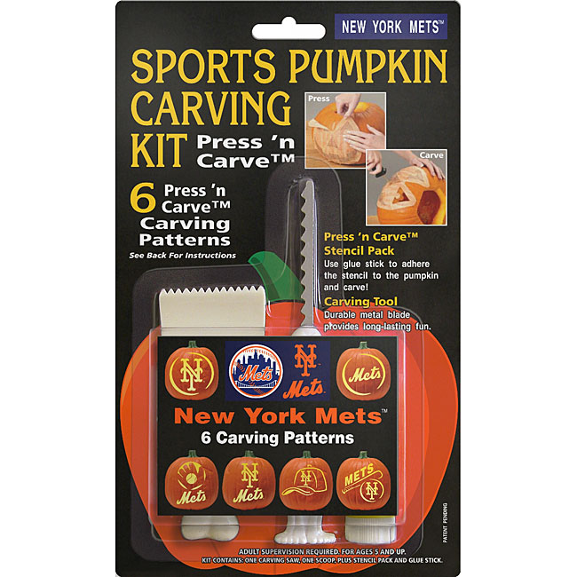 New York Mets Pumpkin Carving Kit