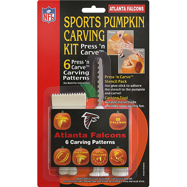 Atlanta Falcons Pumpkin Carving Kit