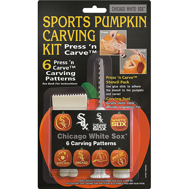 Chicago White Sox Pumpkin Carving Kit
