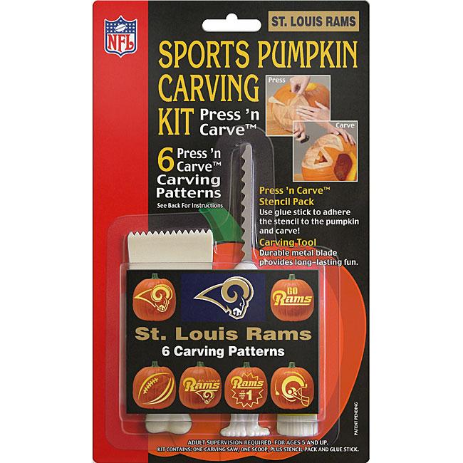 St. Louis Rams Pumpkin Carving Kit