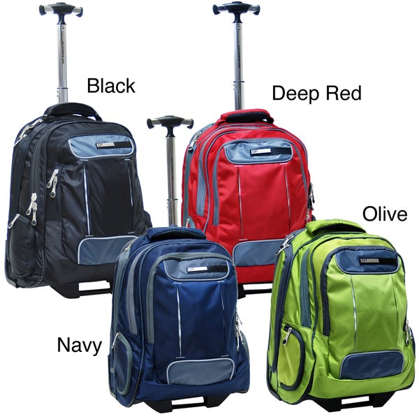 CalPak Satellite 18-inch Rolling Laptop Backpack