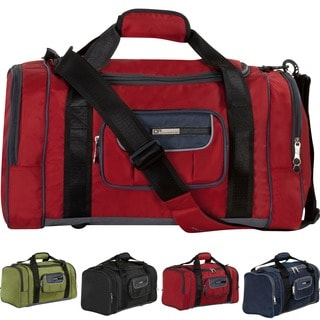 CalPak Carbon 22-inch Deluxe Unisex Lightweight Carry-on Duffel Bag