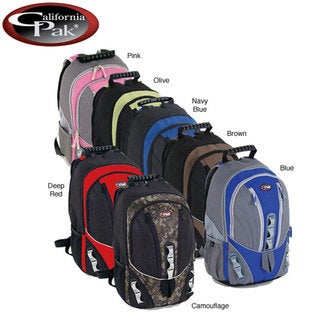 CalPak Sky Forest Solid 18 Inch Lightweight Utility Backpack