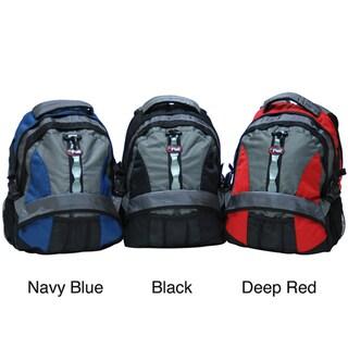 CalPak Power Pak 18-inch Padded Laptop Backpack with Side Mesh Pockets