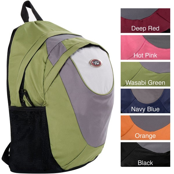 CalPak S Curve Solid 18 Inch Lightweight Utility Backpack