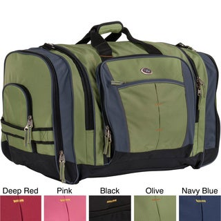 CalPak Hollywood Solid 27-inch Lightweight Polyester Unisex Duffel Bag