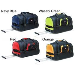 CalPak Temptation 26-inch Rolling Multi-compartment Travel Duffel Bag