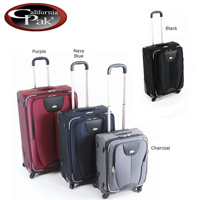 CalPak Tacoma 3-piece Spinner Luggage Set