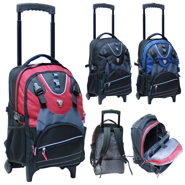 CalPak Outlaw 18-inch Rolling 14-inch Laptop Backpack