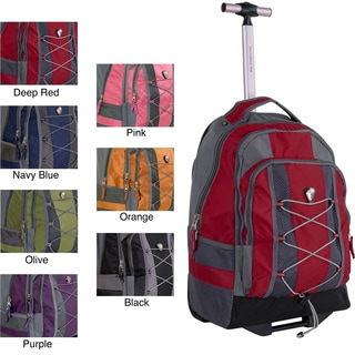 CalPak Impactor 18-inch Rolling Backpack