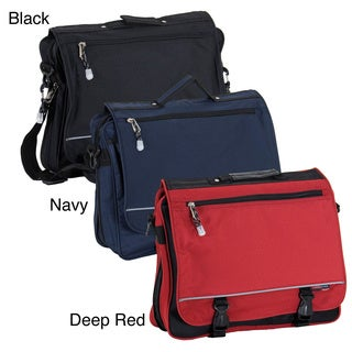 CalPak Negotiator 16-inch Expandable Soft Messenger Briefcase