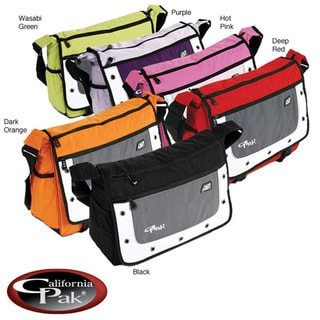 CalPak Goal Soft Messenger Briefcase