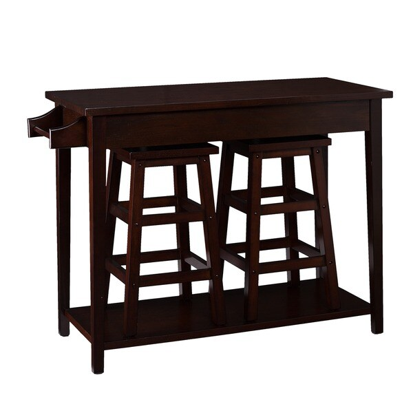 Piece breakfast island bench coffee table 11519889 overstock