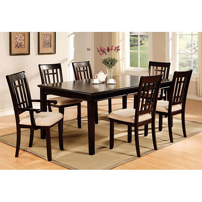 Dining Table and Chair 7-piece Set